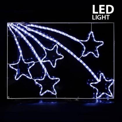 ΛΕΥΚΟΙ ΜΕΤΕΩΡΙΤΕΣ LED (110X75)