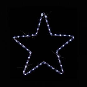 ΑΣΤΕΡΙ LED ΛΕΥΚΟ ΜΕ ΦΩΤΟΣΩΛΗΝΑ (56x56 cm)